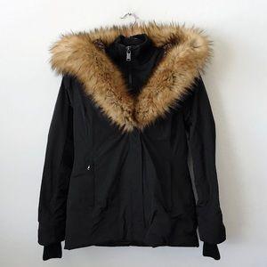 Babaton Lindon Parka w/ Faux Fur